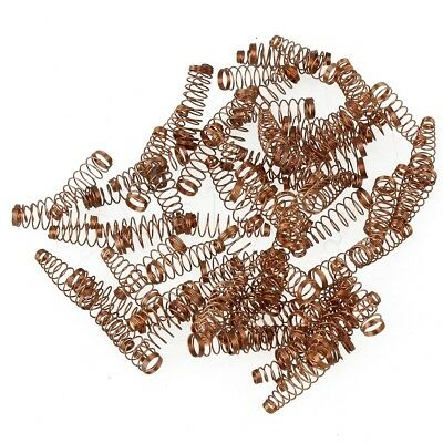 Yibuy Copper Piano Jack Springs Set of 90 Golden