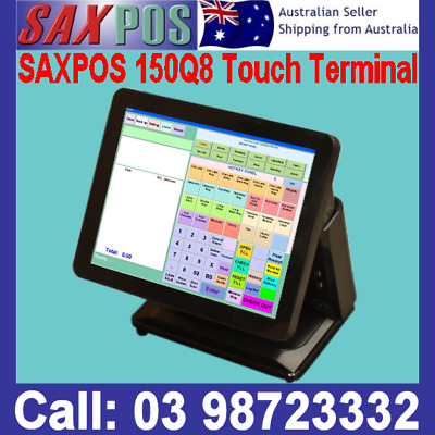 """SAXPOS Fujitsu 15""""Inch 3000 Touchscreen Basic POS System Point of Sale+Software"""