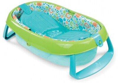 Safety 1st Baby Bath Tub Foldable Bath Tub Light Blue