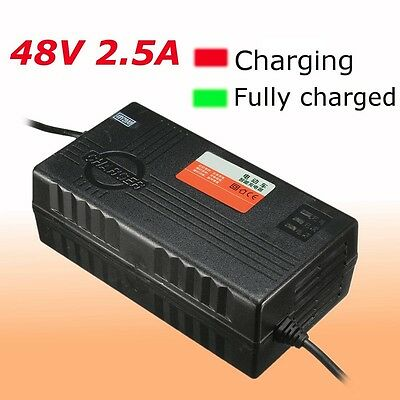 48V 2.5A Power Battery Charger Electric Scooter Bike With PC Plug Adaptor