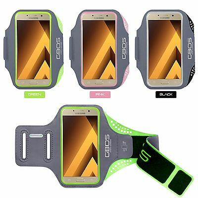 GBOS® Sports Armband Running Jogging Exercise Case for Samsung Galaxy A5 (2017)