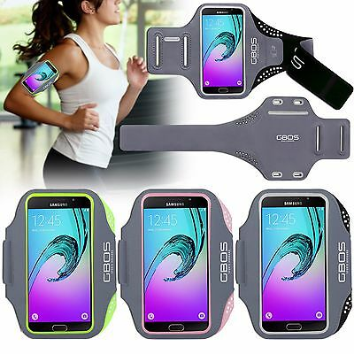 GBOS® Sports Armband Running Jogging Exercise Case for Samsung Galaxy A5 (2016)