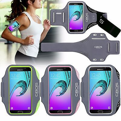 GBOS® Adjustable Armband For Samsung Galaxy A8 Running Jogging Exercise Holder