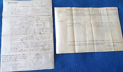 2 Documents Related to People in Stafford County, 1862