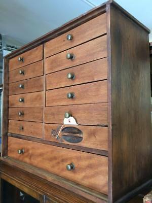 Antique collectors cabinet circa 1915  13″x12″x19″