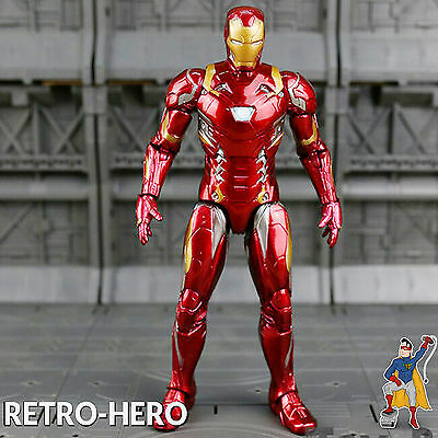 Marvel Iron Man Figur 16 cm - Avengers Age Of Ultron Actionfigur Statue Hero