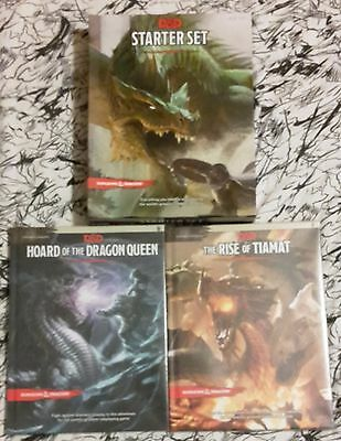 Dungeons & Dragons - Hoard of the Dragon Queen + The Rise of Tiamat + StarterSet