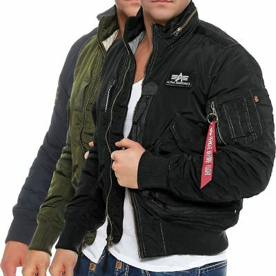 ALPHA INDUSTRIES HERREN Bomberjacke Engine 103101