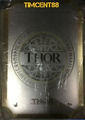 Hot Toys MMS225 Marvel Thor The Dark World 1/6 Light Asgardian Armor Open New