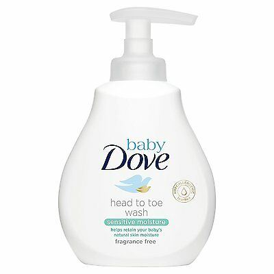 Dove Baby Rich Moisture Head to Toe Wash (200ml)
