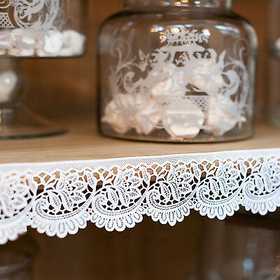 Merletto adesivo in vinile Shabby Chic Richelieu Collection Blanc Mariclo' Color