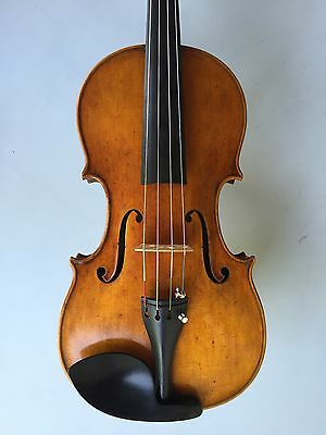 """Fine Antique 15.5"""" Viola Labeled Andre Conot 1924  ** Great Tone  **"""
