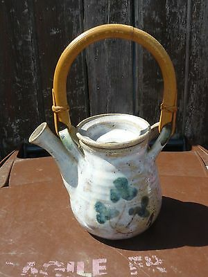 British Studio Pottery Tea Pot .. Un-Know Maker