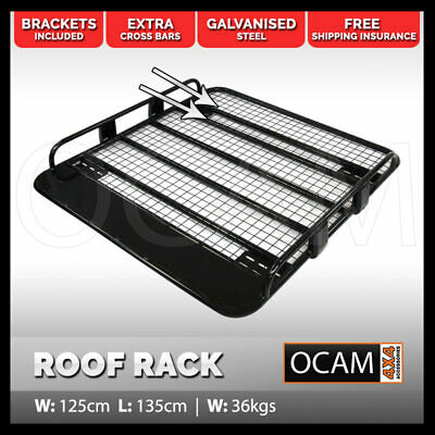 OCAM Steel Tradesman Roof Rack for Toyota Hilux 1997-15 1350x1250mm