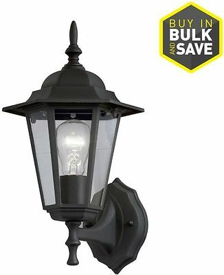 Portfolio Sand Black Outdoor Wall Light Fixture Entrance Way Lantern Porch New
