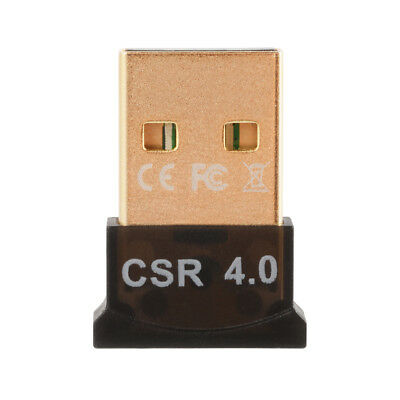 USB Bluetooth v4.0 Adapter Wireless Dongle CSR 4.0 EDR for Windows 10/8/7 AC827