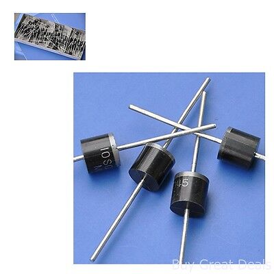 10 PC 45V Schottky Diode Fit Solar Panel Wind Rectifier 10AMP Portable Power Add