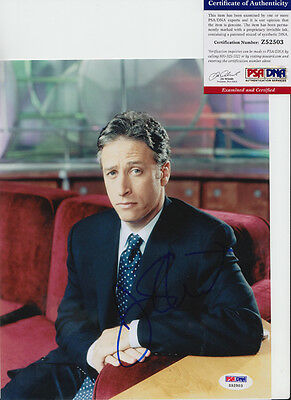 Jon Stewart The Daily Show Host Signed Autograph 8X10 Photo Psa/dna Coa #z52503