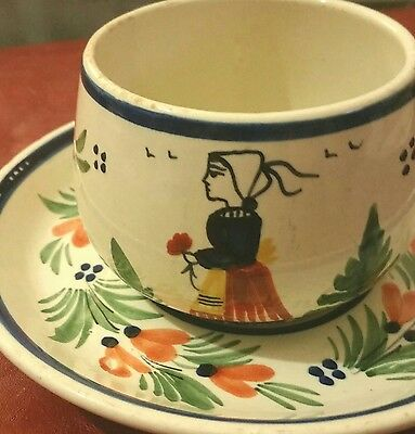 HB Quimber France Lady Cup and Saucer
