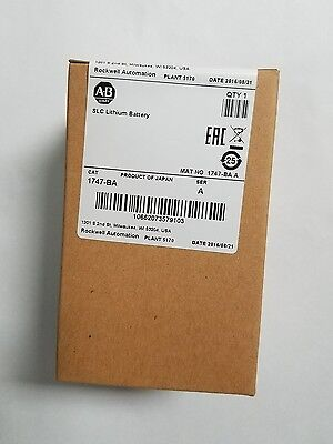 * Factory Sealed*  Allen Bradley 1747-BA,ser A ,SLC Lithium Battery