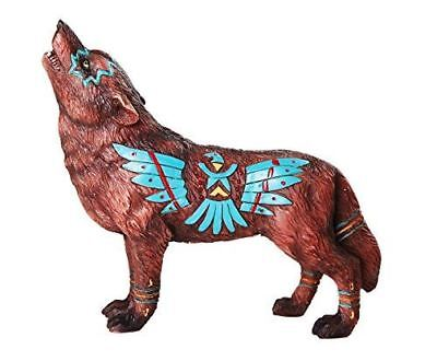 The Wolf Spirit Collection Eagle Wolf Spirit Collectible Figurine