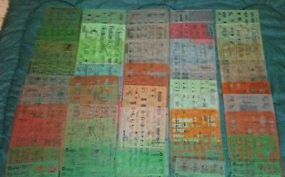 Large 100+ Mixed Lot Of Architectural Drafting Drawing Templates Scales