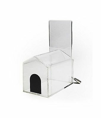 Source One Donation Box with Sign Holder (Small-House) 1 Pack Small