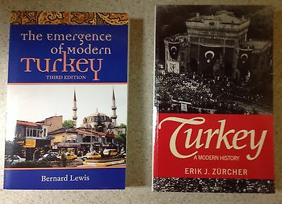 Lot of 8 books on late Ottoman and modern Turkey. Final listing.