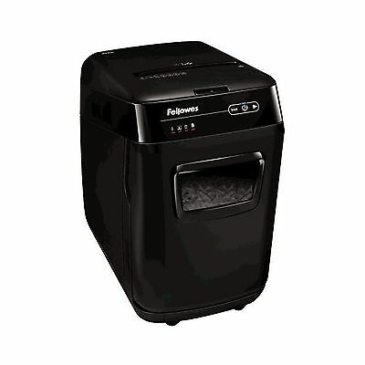 Fellowes AutoMax 200C 200-Sheet Cross-Cut Auto Feed Shredder for Hands-Free S...