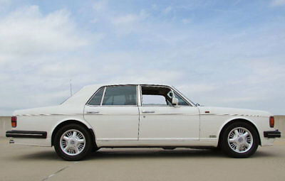 1993 Bentley Turbo TURBO R 1993 BENTLEY R TURBO MUST SEE OWNED BY MARILYN MONROES PRODUCER NO RESERVE