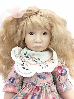 "Cottage Collectibles ""Ellen"" Porcelain Doll by Ganz (Doll 2387 of 3000)"