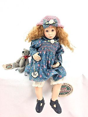 "Cottage Collectibles ""Julia"" Procelain Doll by Ganz (Doll 1232 of 3600)"