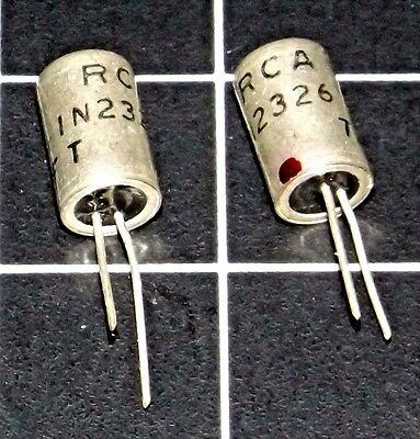 RCA 1N2326 Germanium Diode (x2) Lot of two