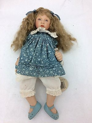 "Cottage Collectibles ""Annie"" Porcelain Doll by Ganz (Doll 0917 of 3000)"