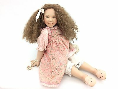 """Cottage Collectibles """"Jan"""" Porcelain Doll by Ganz (Doll 0695 of 3000)"""