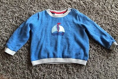 Little White Company Jumper 6-9 Months