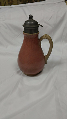 Antique Ironstone Syrup Pitcher WB Jr & Co Trademark Ironstone China with Eagle