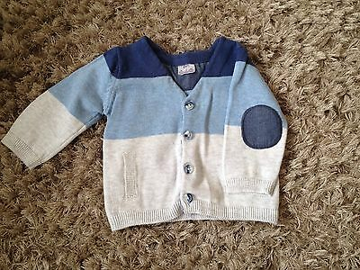 Baby Boys Cardigan 0-3 Months Immaculate Condition