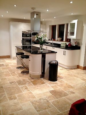 Howdens fitted kitchen with granite worktop and appliances