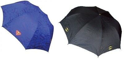 Official Dc Comics Batman Or Superman Golf Umbrella Brolly