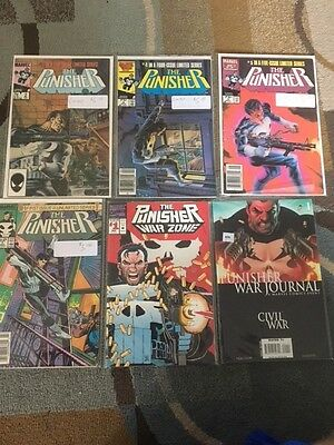 Punisher lot - #1 - Limited series, War Zone + more!!!!!!