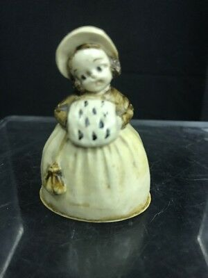 Vintage Figural Celluloid Sewing Measuring Tape of Young Girl