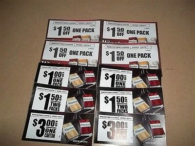 10 Winston Cigarette Coupons $17.00  In Savings