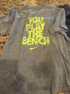 Lot Of 3 Boys Youth Medium Shirts, Nike And Under Armour