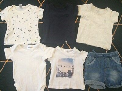 Baby Boys Summer Clothes Bulk Pack - Size 000