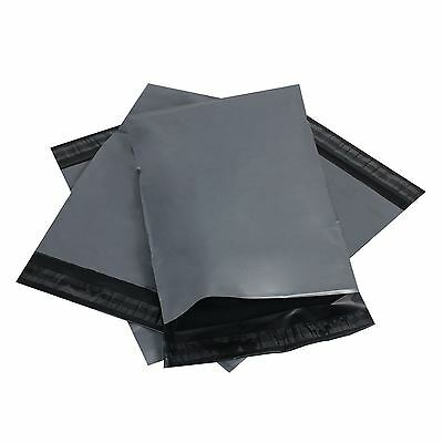 100 Strong Grey Mailing Bags~Self Seal Poly Postal Postage Packaging Mailer Bag