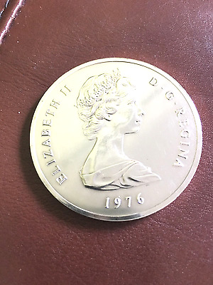 1976 Elizabeth II 50 Crown Turks & Caicos
