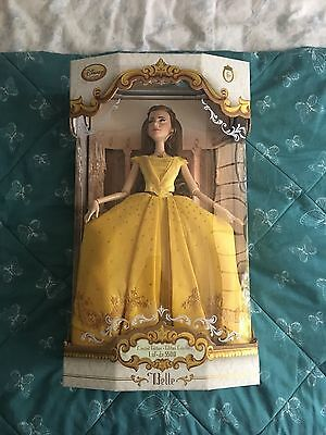 Disney Store Limited Edition Live Action Belle Doll - Brand New