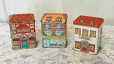 Vintage/Old 1984 Lillian Vernon Tea Tin Set of 3