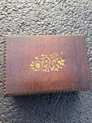 Vintage Wooden Box Humidor Jewelry Diary Shelf Wood Antique Storage